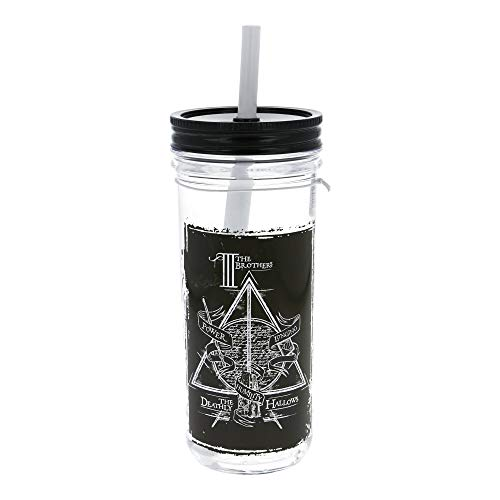 Stor Barattolo con Cannuccia Grande 670 ml Harry Potter Young Adult