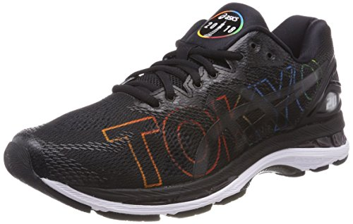 Asics Gel-Nimbus 20 Tokyo Marathon, Zapatillas de Running para Mujer, Negro (Black/Black/White 9090), 39 EU