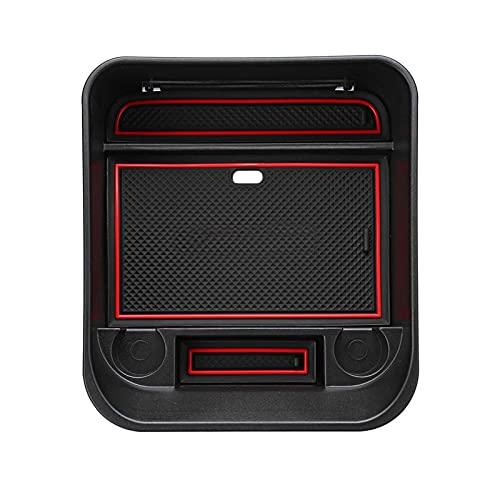 Skybright FEWRFIVU Organizador de automóviles Caja de Almacenamiento de automóviles Central Caja de Recipiente Caja de contenedor Ajuste para Land Rover Discovery 4 2010-2016 Auto Accesorios Interior