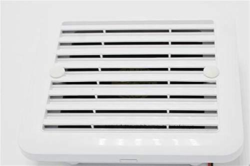 Pangocho Jinchao-Rejilla ventilación, 24V RV Lateral ventilación de Aire del Remolque Caravana Vent Ventilador de bajo Ruido y Fuerte Viento del Ventilador del soplador, Piezas de Repuesto