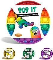 Maroma Fidget Toys Pop It | Juguete antiestres y de ansiedad | EXCELENTE Calidad | Burbujas Fidget Sensorial | Fidget...