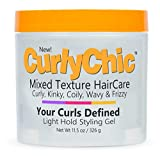 Curly Chic Your Curls Defined Light Hold Styling Gel (Pack of 4)
