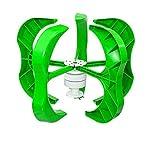 YEDENGPAO 3000W 12V Generador De Turbina Eólica Kit De 5 Palas Controlador De Generador Eólico Híbrido Generador De Turbina Eólica Controlador De Carga Híbrido 20A Energía para El Hogar,48v,3200W