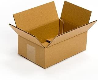 Pratt PRA0023 100% Recycled Corrugated Cardboard Box, 9