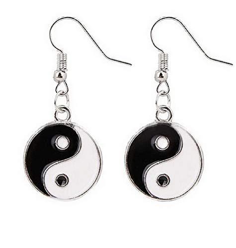 Pendientes con colgante con símbolo de Yin Yang Tao - Idea de regalo