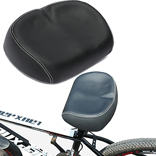 Hombres Mujeres Universal Amplio Silla de Bicicleta Memoria Gruesa Espuma High Rebound Shock Resistente para BMX Road Mountain Bike EMTB