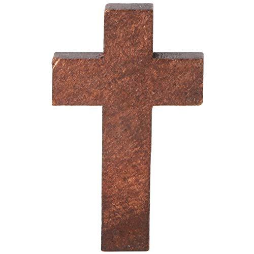 20 Stks Houten Kruisen Christelijke Muur Kruisen Natuurlijke Hout voor Religieuze Partij Gunsten Zondag School Diy Craft (#1)
