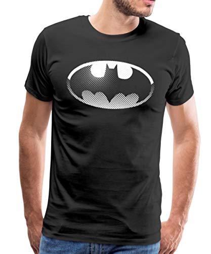 DC Comics Originals Batman Logo T-Shirt Premium Homme, L, No