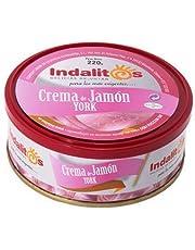 Indalitos - Crema de Jamón York - Bandeja 5 Latas 220 g