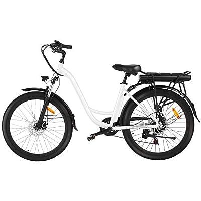 """Speedrid E-Bike 26""""Elektro-Citybike mit herausnehmbarem 12,5-Ah-Lithium-Ionen-Akku, 45-Meilen-Pendler-E-Bike, Elektrofahrrad für Frauen/Männer/Jugendliche/Erwachsene"""