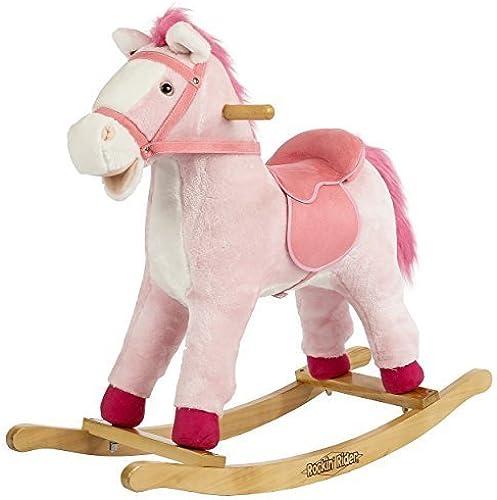 Rockin' Rider Dazzle Rocking Horse Ride On by Tek Nek Toys International, Inc