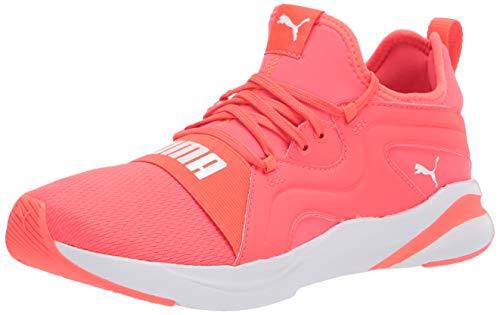 PUMA Women's 19506804 Running Shoe, Fiery Coral White, 8.5