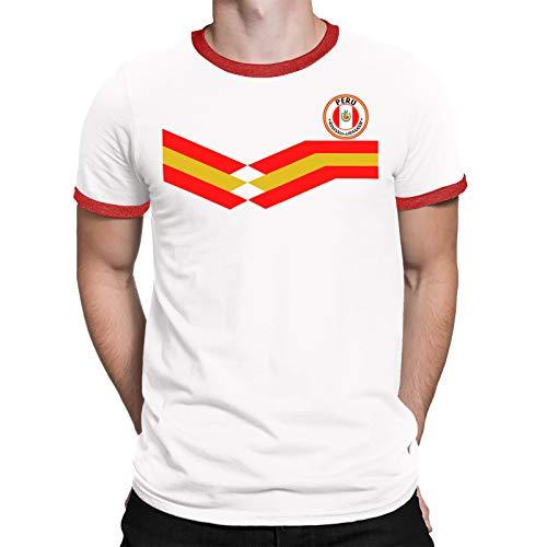 T-shirt Ringer irán all-10 rojo-WM 2018 camiseta de fútbol
