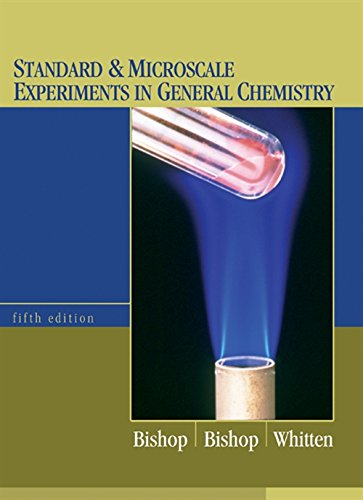 Standard and Microscale Experiments in General Chemistry