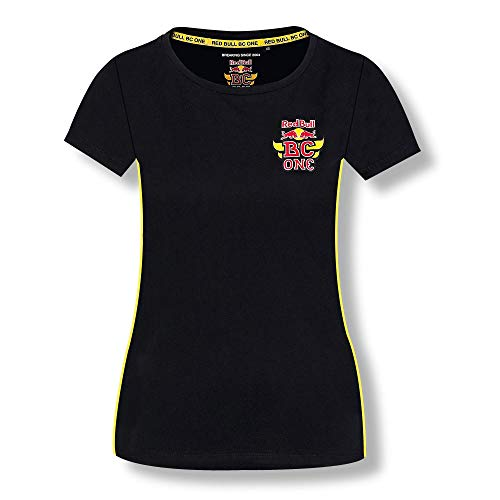 Red Bull BC One Camiseta, Negro Mujer Top, BCOne Freestyle Dance B-Boy Original Ropa & Accesorios
