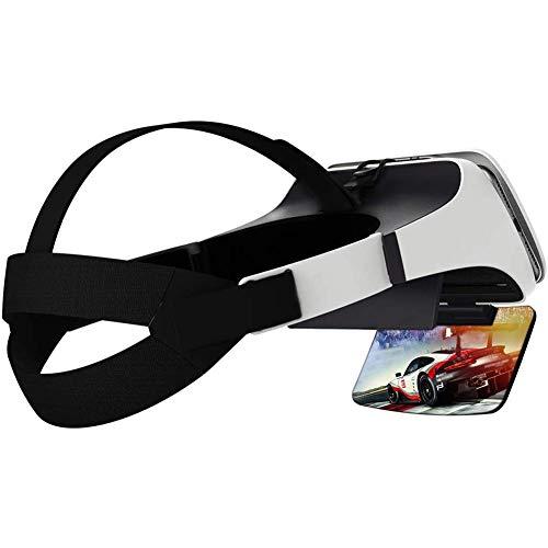 Fengxian Visor X Lupa de Pantalla de teléfono Inteligente para Ver Videos/películas/Juegos, Amplificador de Pantalla de teléfono Inteligente, Soporte para telefono movil