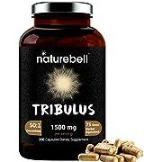 Tribulus Terrestris for Men and Women, 1500mg Per Serving, 200 Capsules, Supports Stamina, Energy and Immune System, Premium Tribulus Pills, Non-GMO