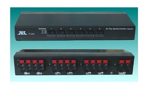 TCC TC-616 Selettore Stereo per Amplificatori diffusori