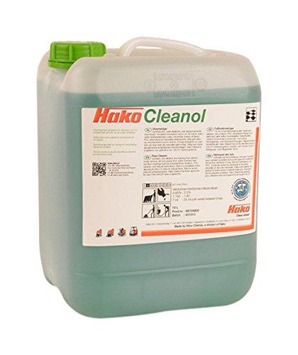 Hako 99704800 Cleanol Reiniger, Schaumarm, 351,95 fl. oz, Grün