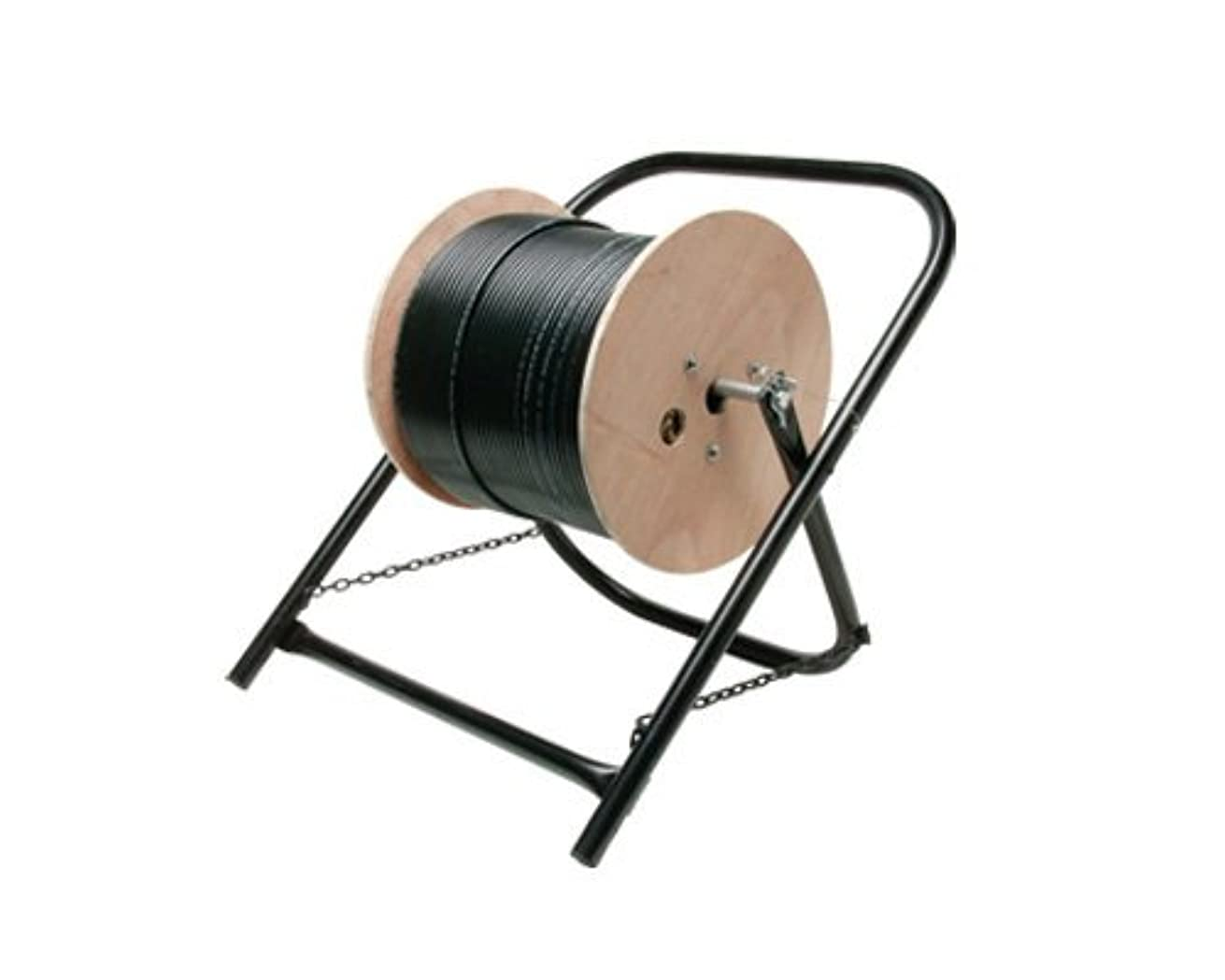 STEREN - CABLE CADDY - CABLE REEL STAND - HOLDS CABLE SPOOLS UP TO 20