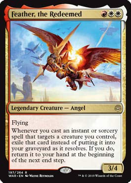 Magic: The Gathering - Feather, The Redeemed - War of The Spark
