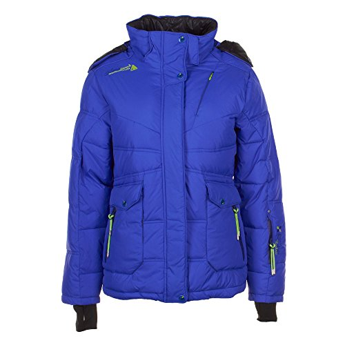 Peak Mountain - ski Jas Vrouwen Annecy-Blue-T2
