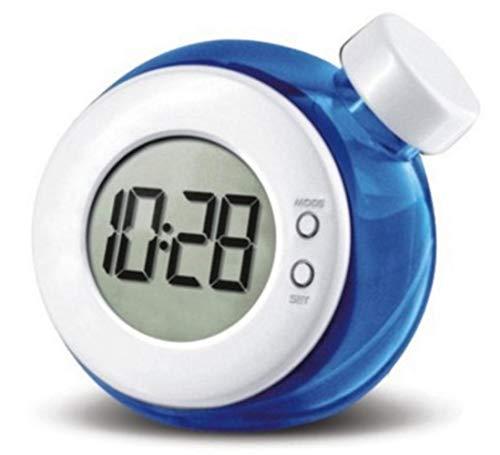 NXSP Kreative wasserbetriebene Uhr,Kindertischuhr Smart Water Element Mute Digitaluhr mit Kalender Home Decor Kindergeschenke