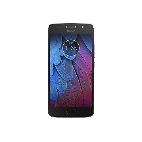 """Motorola Moto G5S - Smartphone Libre de 5.2"""" Full HD, 3.000 mAh batería, cámara de 16 MP, 3 GB de RAM + 32 GB Almacenamiento, procesador Snapdragon de 1.4 GHz, Color Gris"""