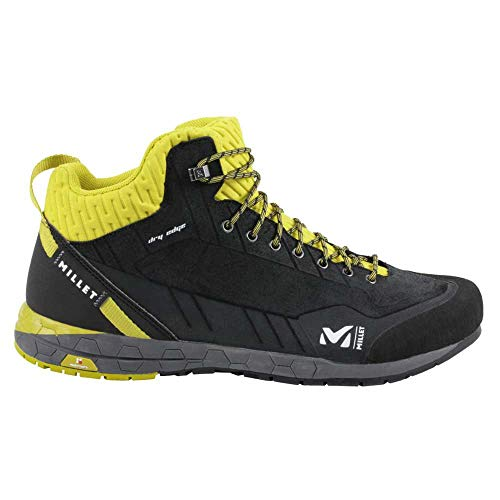 Millet Amuri Leather Mid Dry M, Walking Shoe Mens, Black-Noir, 45 1/3 EU