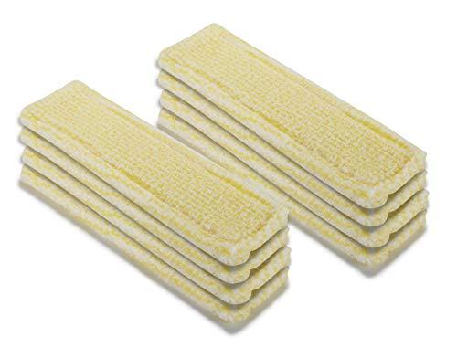 Supremery 8X Funda de Microfibra para limpiacristales Kärcher WV Aspirador de Ventanas inalámbrico WV 6 Plus (Premium), WV 5 Plus (Premium), Amarillo Interior, reemplaza Kärcher 2.633-130.0