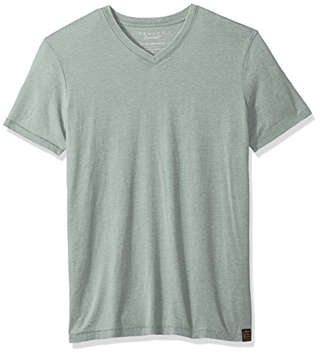 Lucky Brand Men's Venice Burnout V-Neck TEE Shirt, Laurel Wreath, S