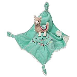 """crib bedding and baby bedding mary meyer baby lily llama character blanket 13""""x13"""""""