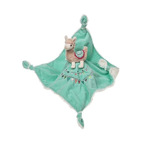 Mary Meyer Baby Lily Llama Character Blanket 13″x13″