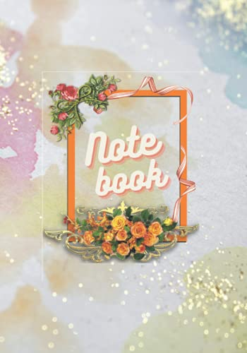 notebook 7 pollici Notebook: 7  x 10  120 pages Colorful Wall Daily Lined Journal- Notebook For Women