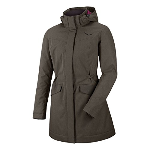 Salewa Damen Fanes Tirol Wool Jacket - Jacke Herren Mantel, Magnet/Bkout, 40