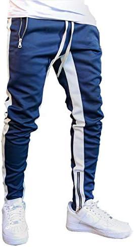FLYFIREFLY Men s Gym Sport Pants Hip Hop Slim Fit Track Pants Workout Running Athletic Jogger product image
