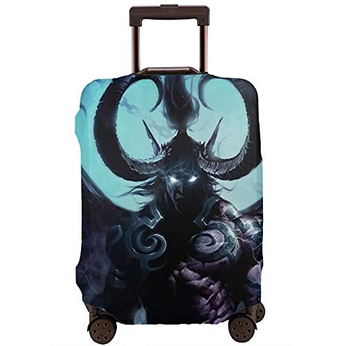 World Warcraft - Funda protectora para maleta de juegos, lavable, diseño de impresión 3D, 4 tamaños para la mayoría de equipaje con cremallera