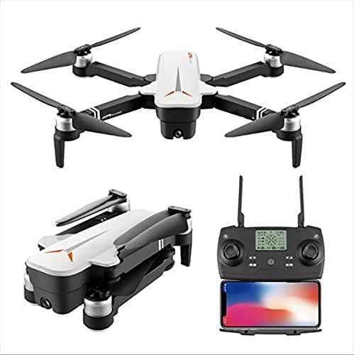 J-Clock 4DRC F4 GPS Drone con Fotocamera 4K per Adulti, Quadcopter con Fotocamera Stabile a 2 Assi con 5GHz FPV Live Video GPS Return Home Gesture Control Circle Fly Auto Hover Trasmissione WiFi 5G