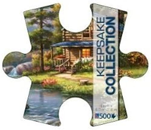 Mountain Creek Cabin Keepsake Collection 500 Piece Puzzle Sung Kim