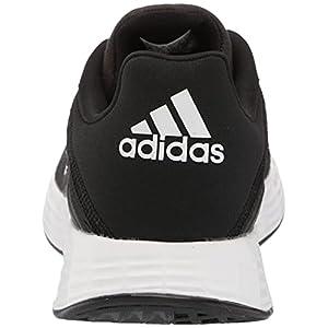 adidas Men's Duramo SL Trail Running Shoe, Black/White/Black, 10