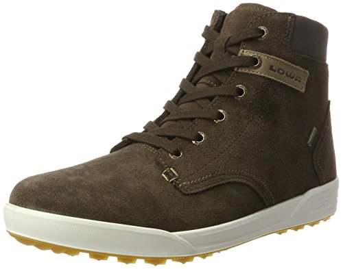 Lowa Herren Dublin Iii GTX Qc Hohe Sneaker, Braun (Dark Brown), 42 EU