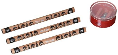 トンボ鉛筆 鉛筆 Yo-i おけいこセット 6B MY-PBE-6B