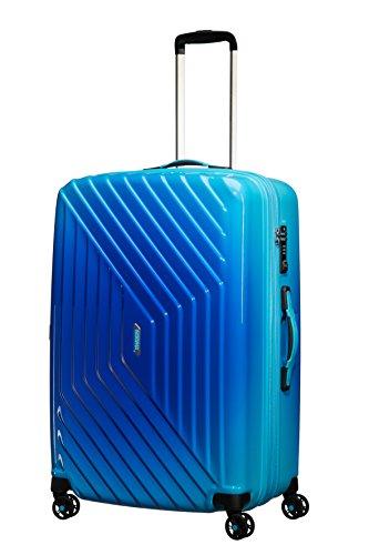 American Tourister Air Force 1 4 Roues 76/28 TSA Extensible Grad Valise, 76 cm, 111 L, Gradient Blue