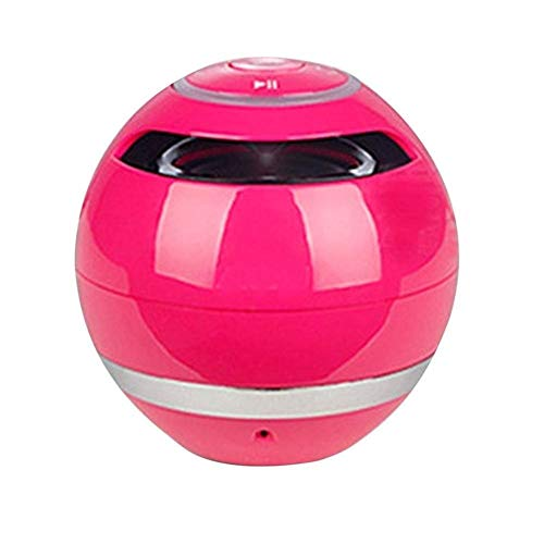 DKee. Rosa tragbare Bluetooth-Lautsprecher freihändige TF FM-Radio Sie Fans,...