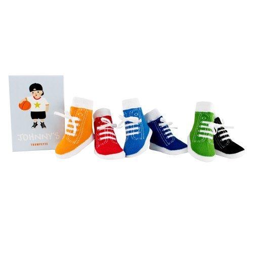 Trumpette Johnny's Socks - Calcetines para bebé (0-12 meses), varios colores