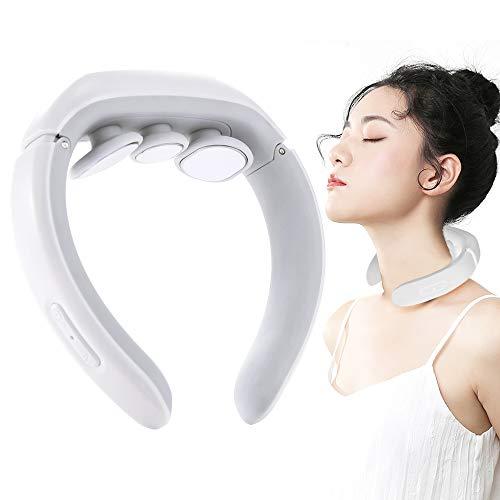 Masajeador de cuello, masajeador de hombro, masajeador de cuello eléctrico, cuello relajante, Intensidad Masajeador Hombros y Cuello para...