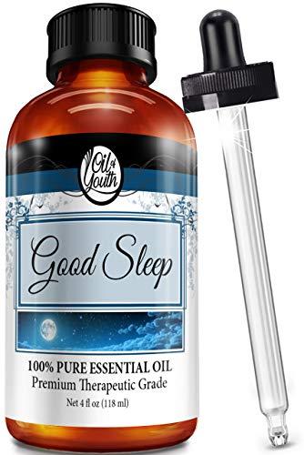 4oz Bulk Good Sleep Blend Essential Oil – Therapeutic Grade – Pure & Natural Good Sleep Blend Oil