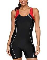 ثوب سباحة نسائي قطعة واحدة ثوب سباحة رياضي من شارمليكس