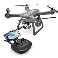 Holy Stone HS700D FPV Drone with 2K FHD Camera Live Video and GPS Return Home, RC Quadcopter for Adults Beginners with Brushless Motor, Follow Me, 5G WiFi Transmission, Modular Battery Advanced Selfie by Holy Stone