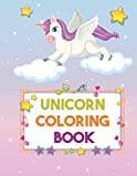 unicorn coloring book: for kids ages 2-5 (us edition) a coloring workbook for preschoolers